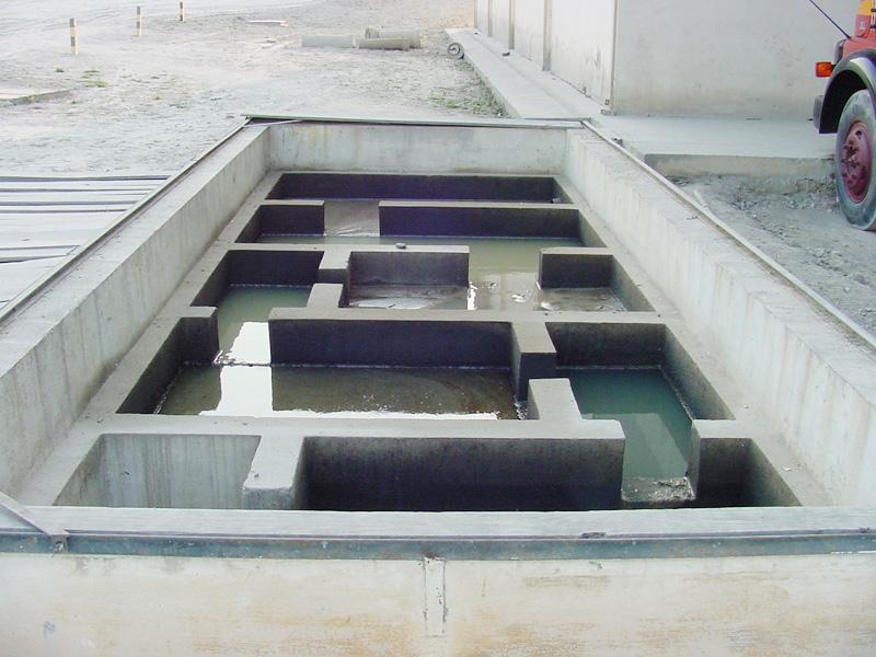 Controle de efluentes líquidos gerados no empreendimento