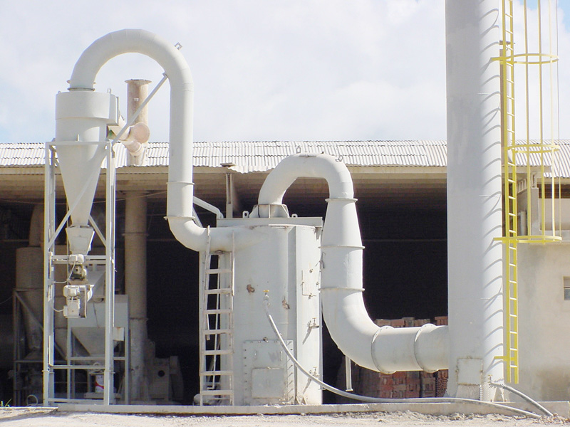 Controle de emissão de gases gerados no processo de secagem
